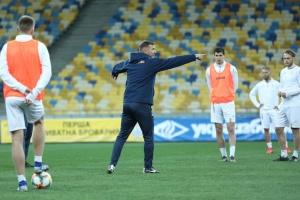 Збірна України з футболу провела у Києві відкрите тренування перед грою з Португалією