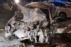 В Киеве Chevrolet на скорости 160 км/ч протаранил маршрутку с пассажирами