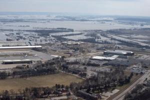 В США из-за наводнения затопило военную базу с «самолетами судного дня»