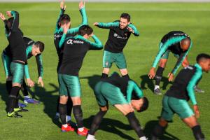 Збірна Португаліії без Роналду провела перше тренування перед матчем з Україною