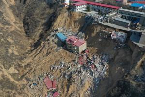 Зсув на півночі Китаю: кількість жертв зросла до 15