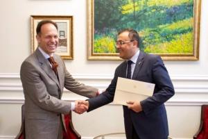 Новий посол Болгарії розпочав дипмісію в Україні