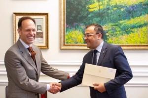 New ambassador of Bulgaria begins diplomatic mission in Ukraine