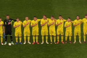 Футбол: юноши Украины и Сербии обменялись голами на старте элит-раунда Евро-2019