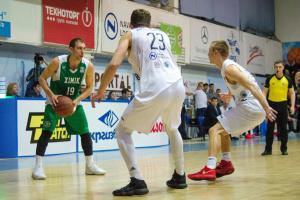 «Химик» возглавил баскетбольную Суперлигу за тур до завершения чемпионата