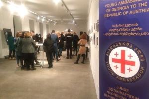 Молоді посли Грузії закликали у Відні до припинення російської окупації