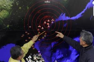 Возле ядерного полигона КНДР произошло землетрясение