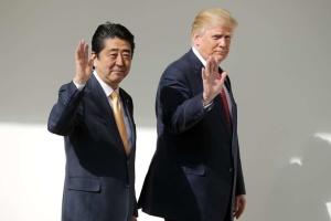 Премьер Японии может посетить США в конце апреля - СМИ