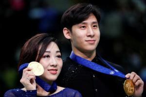 Китайський дует переміг зі світовим рекордом на ЧС-2019 із фігурного катання