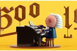 До дня народження Баха Google створив дудл на основі штучного інтелекту