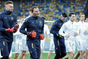 Шевченко оголосив заявку збірної на жовтневі матчі