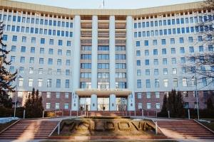 Под парламентом Молдовы прошла акция протеста