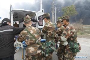 Вибух на хімзаводі в Китаї: шестеро загиблих, десятки поранених