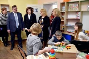 Марина Порошенко відвідала Любарський інклюзивно-ресурсний центр