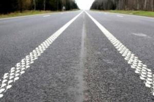 На украинских трассах планируют делать шумовую дорожную разметку