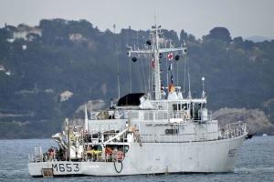 Французский минный тральщик Capricorne вошел в Черное море
