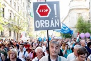 Угорці протестують проти академічних реформ прем'єра Орбана