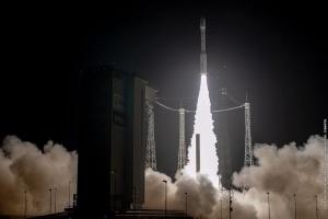 Ракету-носій Vega з українським двигуном запустили в космос