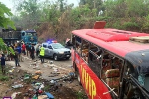 У Гані зіткнулися два автобуси: 60 загиблих