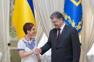 Poroschenko: US-Botschafterin Yovanovitch hat meine volle Unterstützung