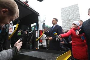 В ОТГ передали 15 автомобілів для перевезення осіб з інвалідністю