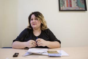 Надія Шостак, заввідділу культури Жовтанецької ОТГ на Львівщині