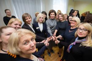 Марина Порошенко проінспектувала заклади інклюзивної освіти в Києві