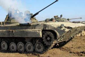На Львовщине инструкторы семи стран НАТО тренируют украинских военных