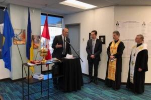 Генконсульство Украины в канадском Эдмонтоне переехало в новое помещение