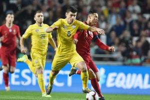 Eliminacje Euro 2020 - Ukraina zremisowała z Portugalią
