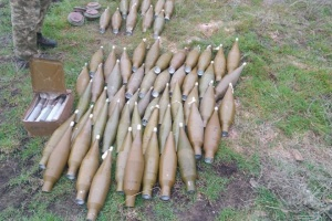 В Широкиному уничтожили склад неучтенных боеприпасов