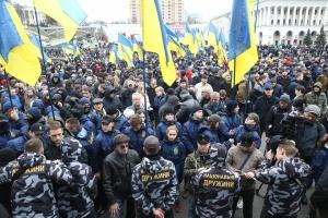 Акция Нацкорпуса в Киеве прошла без нарушений — Крищенко