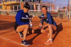 Теніс: українка Любов Костенко виграла парний титул на турнірі в Іспанії