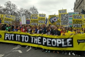 Марш против Brexit в Лондоне: организаторы заявляют о миллионе участников