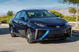 Toyota планує збільшити виробництво автомобілів на водні