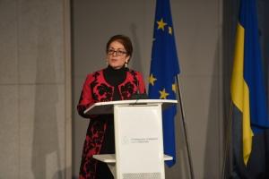 Йованович поделилась воспоминаниями о работе в Украине