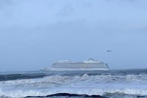 С лайнера Viking Sky забрали 460 пассажиров и прекратили эвакуацию