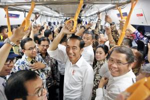 В Індонезії вперше запускають метро