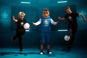 УЕФА представил талисман футбольного Евро-2020