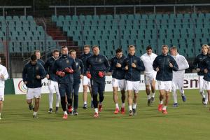 Футболисты сборной Украины провели открытую тренировку в Люксембурге