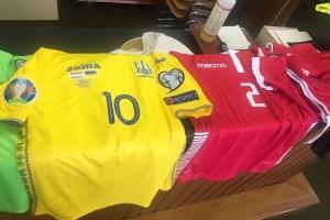 Украина и Люксембург определились с формой футболистов на сегодняшнее противостояние