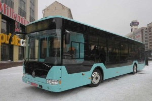 Черниговский автозавод презентовал 12-метровый городской автобус