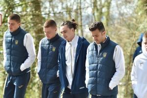 Футбольная сборная Украины в Люксембурге готовится к матчу отбора Евро-2020