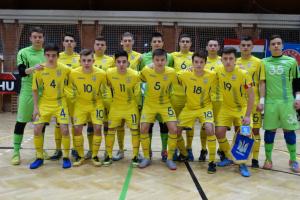Юнацька збірна України вирушила до Скоп'є на матчі відбору Євро-2019 з футзалу