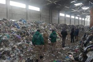 На Житомирщине перекрыли трассу - протестуют против львовского мусора