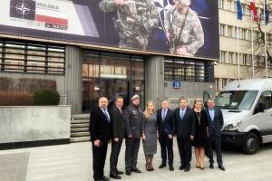 Делегация Верховной Рады прибыла в Польшу