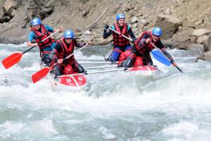 На Прикарпатті відбулися змагання з водного туризму