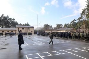 Президент привітав Нацгвардію з п'ятою річницею