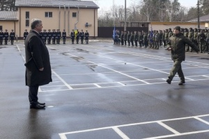 El presidente felicita a la Guardia Nacional por su quinto aniversario (Vídeo)