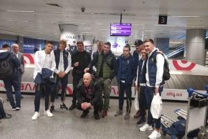 Збірна України з футболу повернулася додому після двох матчів відбору на Євро-2020